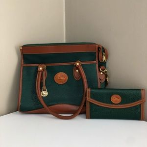 Vintage dooney and bourke purse and wallet